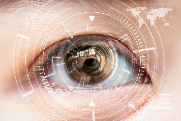 Specialist contact lenses for irregular eyes - keratoconus