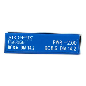 Air Optix plus HydraGlyde cyprus 2