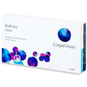 Biofinity Monthly Toric 3 Lenses